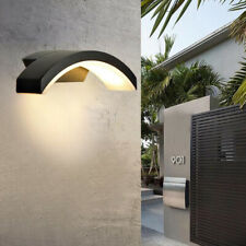 More details for 12w outdoor led wall light pir sensor waterproof hallway stairs night lamp