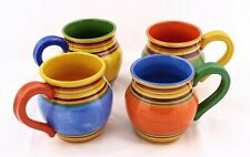 Pacific Rim Sante Fe Hand Painted Coffee Mugs