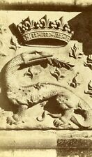Castle Wing Francois Premier Salamander 41000 Blois France Old CDV Photo 1870