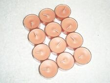 Partylite Peach Honey Citronella Tealights - Nib