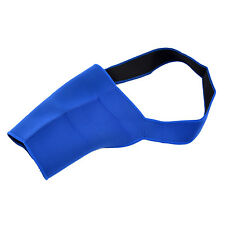 Men Sports Protect Blue Elastic Neoprene Single Shoulder Brace Support T1