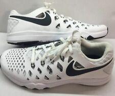 Nike Training Shoe Mens Boys 7 White New Train Speed 4 White Black