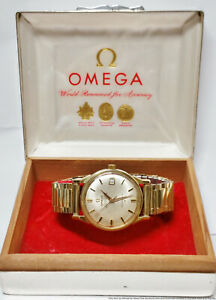 Vintage Omega Constellation Cal 561 168.005 Mens Date Watch w Box