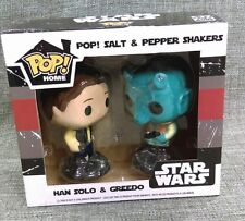 Funko Pop Han Solo& Greedo Salt & Pepper Shaker Star Wars Smuggler's Bounty