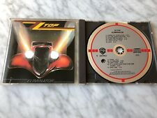 ZZ Top Eliminator CD TARGET DISC WEST GERMANY 1983 RARE Billy Gibbons Dusty Hill