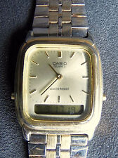 Casio Stainless Steel Strap Unisex Polished Wristwatches