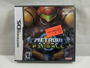 Metroid Prime Pinball (Nintendo DS) Brand New * Factory Sealed *