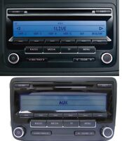 VW RCD 310 MP3  VW GOLF 6 Polo EOS Caddy Passat B6 B7 Touran Jetta Autoradio CD