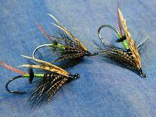 Classic flie for Atlantic salmon fly fishing - Dee fly Black bear Green butt #4