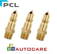 PCL Series 100 Male Adaptor 1/2 BSP Air Line Fitting x3
