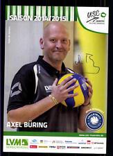 Axel büring USC Münster 2014-15 Original signed Hand Ball + a 122930