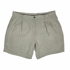 Tommy Bahama Mens Relax Silk Shorts Khaki Tan Size 38