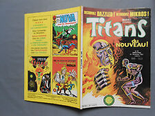 ► TITANS N°35 - LUG - Novembre 1981