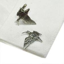 Quality Cufflinks Handmade in England Silver Pewter Woodcock Game High