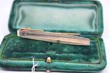 Vintage Gold tie clip in the art deco style #T293