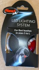 Flexi LED Light Lighting System for leashes in size S to L Leash Flashlight NEW