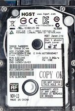 "GETAC B300 REPLACEMENT HDD, HGST 0J11285 HTS545050A7E380 Z5K500-500 2.5"" 500GB"