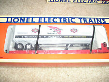 Lionel # 16953 New York Central Flat Car w/ RED WING SHOES Trailer