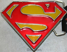 NEW DC COMICS Super Hero SUPERMAN Super Man BELT BUCKLE LOGO METAL Man of Steel