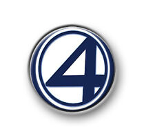 """FANTASTIC FOUR / 1"""" / 25mm pin button / badge / Marvel / The Thing / Human Torch"""
