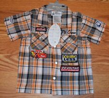 New Disney Parks 12 months Boys Infant shirt Lightning McQueen Free ship