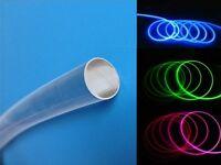 S239 - 2 Meter Lichtfaser 1,5mm Lichtleiter Lichtleitfaser seitlich leuchtend