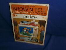 Vintage Ge Show'N Tell Daniel Boone Picturesound Program 1964
