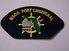 USN CAP/JACKET PATCH - MSCO PORT CANAVERAL:FL13-1
