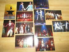 NEW HAMILTON an AMERICAN MUSICAL CHICAGO CAST 12 PHOTO SET
