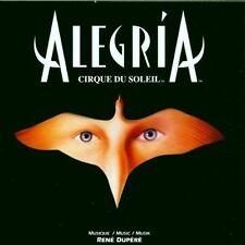 Cirque du Soleil Alegria (12 tracks, 1994, by René Dupéré)
