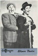 Olsen & Johnson HELLZAPOPPIN 1941 Playgoer Biltmore Theatre LA; Eva Gabor debut