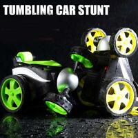 360 Degree Rolling Radio Remote Control Tumbling Stunt Mini Car Electric Toy