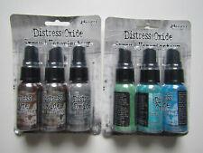 Tim Holtz Ranger Distress Oxide Sprays inks lot 1