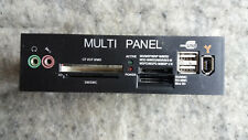 CARD Reader Interno, Multi Panel, CF I-II/MD, SM/SMC, (MINI) SD/MMC, 2x USB 2.0