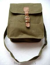 MILITARY COLLECTABLE WWII WW2 GERMAN ARMY MAP CANVAS CASE BAG SHOULDER BAG