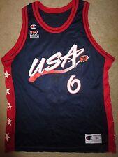 Penny Hardaway #10 US Olympics Orlando Magic NBA Champion Jersey 48 LG