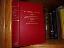 The Hammatt Papers Early Inhabitants of Ipswich Massachusetts 1633-1700