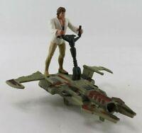 Star Wars 1996 Luke Skywalker w/Desert Sport Skiff Power of the Force POTF 2