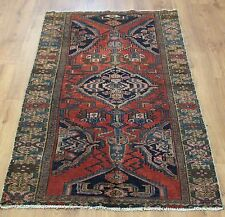 Traditional Vintage Wool 166cmX110cm Oriental Rug Handmade Carpet Rugs