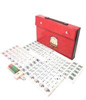 THY COLLECTIBLES Mahjong Tiles Poker Rummy Game Set 120 White Poker Tiles