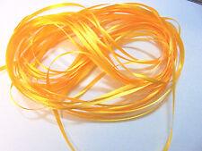 RIBBON BONANZA - More Than 8 metres NARROW RIBBON - Egg Yolk Yellow