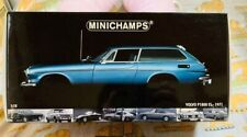 Minichamps 1/18 scale Volvo P1800 ES 1971 model vintage rare vehicle with box