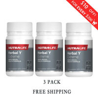 3 Pack Nutralife-Herbal Y Extreme Men Formula 30 Capsules Free Shipping from NZ