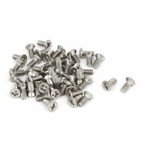 M2x5mm Stainless Steel Phillips Flat Countersunk Head Screws 50pcs