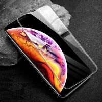 For iPhone X XS Max XR 7 [10D] Full Curved Tempered Glass Screen Protector Guard