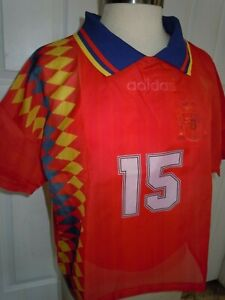adidas SPAIN Layered Soccer Shirt - Women's Size Small CY0681 NEW $90