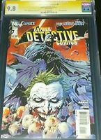 Detective Comics #1 CGC Graded 9.8 NM+ SS (2011 NEW 52) SIGNED BY TONY DANIEL
