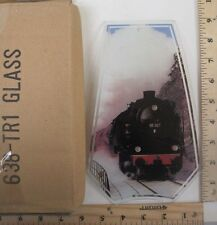 FREE US SHIPPING ok touch lamp replacement glass panel Train Railroad TR1 638