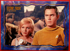 "STAR TREK TOS 50th Anniversary - ""THE CAGE"" - GOLD FOIL Chase Card #62"