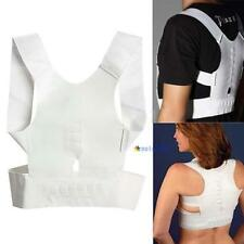 Magnetic Therapy Posture Corrector Body Back Pain Belt Brace Shoulder Support MT